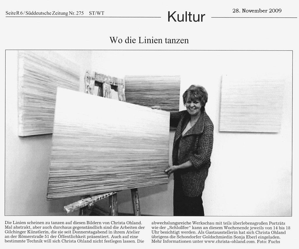 Süddeutsche Zeitung 28. November 2009